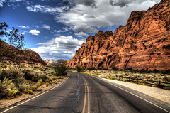 Snow Canyon SP (Rik Tiggelhoven Travel Photography) Tags: snow canyon state park outdoor landscape nature mountain road utah usa america amerika canon 6d ef24105mmf4lisusm rik tiggelhoven travel photography paysage paisagem paisaia paisaje paisaxe landschaft color hdr clouds