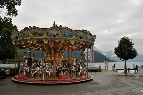 Karussell am Traunsee