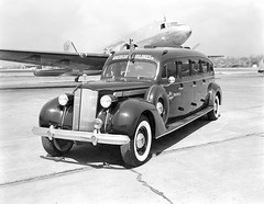 Chicago Municipal Airport - American Airlines - Packard Limousine