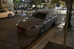 Gray China (Hertj94 Photography) Tags: aston martin rapide s downtown chicago september 2016 canon t3