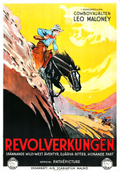 The Long Loop on the Pecos (1927) (Tom Simpson) Tags: thelonglooponthepecos 1920s 1927 western movie movieposter posterart illustration vintage art cowboy horse film