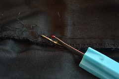 Stitch Seam Ripper (Flickr Clicks by Al) Tags: macro mondays stitch thread remover ripper fabric cloth