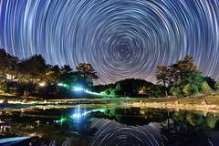 福壽山露營區~星軌~ Startrails (Shang-fu Dai) Tags: 台灣 taiwan nantou 南投 fushoushan farm formosa nikon d610 星軌 彩色星軌 startrails star afsdx1224mm night