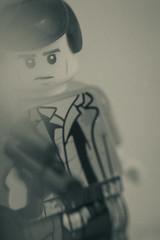 another han solo portrait (jooka5000) Tags: starwars lego portrait hansolo blaster toys toyphotography monochrome