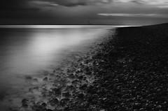 Browndown Sunset (Mark J Hall) Tags: longexposure sea seascape hampshire slowshutter 2012 gosport markhall stokesbay 35mmdx nikond7000 leesoftgradndfilter