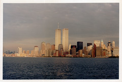 We Were Young [1993] - Twin Towers, World Trade Center (WTC), Manhattan - Never Forget (Loc BROHARD) Tags: nyc newyorkcity newyork skyscraper manhattan worldtradecenter 911 financialdistrict twintowers wtc september11 worldfinancialcenter lowermanhattan southtower northtower