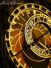 Reloj Astronmico (lautada) Tags: praga reloj republicacheca astronomico