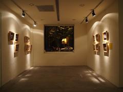 artist's village (firstklassriot) Tags: city light urban art night pen design gallery taiwan indoor olympus taipei zuiko unedited ep3 republicofchina artistsvillage flickraward