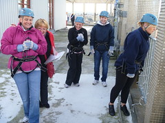 Marks & Spencer Charity Abseil (Reach Beyond Adventure) Tags: events lakedistrict cumbria abseiling challenge outdooractivities outdooradventure charitychallenge charityabseil carlisleciviccentre