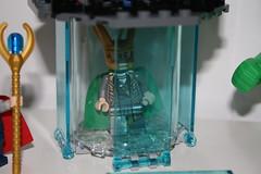 Captured!! (Numbers:123456789) Tags: tower lego jet raptor loki hawkeye f22 hulk thor marvel base avengers 2012