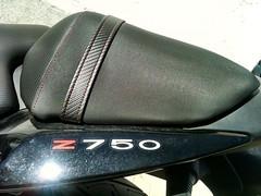 Tapizado trasero de Kawasaki z750 (Tapizados y gel para asientos de moto) Tags: moto kawasaki asiento z750 tapizado tapizar antideslizante