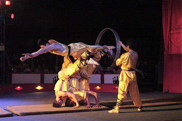 Fellowship of the Ring: The Red Dragon Chinese Acrobats in Shanghai Express.