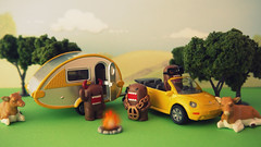Domos on holiday (R D L) Tags: camp vacation holiday forest domo caravan kun siku