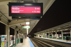 To Howard from Garfield Elevated (cta web) Tags: railroad chicago cta trains transit southside redline chicagotransitauthority rapidtransit danryan ctaredline redsouth redlinesouth