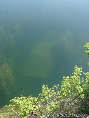 Sunken Car in Wainfleet Quarry May 20, 2013 (Wolfmaan) Tags: camping ontario canada outdoors jrt rocks hiking barefoot barfuss wainfleet