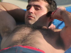 Hunk of the Year - Portugal 2013 (puritani35) Tags: hairy muscles arms chest hunk trunks package speedos lump
