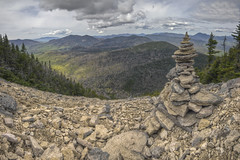 North Slide (Nicolas Doak) Tags: new white mountains canon hiking hampshire sandwich tokina climbing valley granite waterville range hdr cairn 116 t3i 4000 footers photomatix 1116