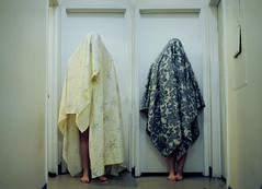 (Cassie_Tucker) Tags: creepy horror sheet cloak paranormal