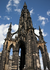 Scott Monument (tompickwellphotography) Tags: scotland edinburgh princesstreet scottmonument