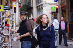 Busy Barcelona (DrRSatzteil) Tags: barcelona vacation postcard busy postcards busily