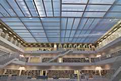 The biggest library in Stuttgart X (Andreas Mezger - Art Photography) Tags: sky berlin andy beautiful architecture dave germany landscape deutschland bavaria photography amazing nice nikon kitten stuttgart nirvana library bibliothek banksy sigma images andreas best tokina professional business most excellent buy getty architektur worst manual nikkor sell better nofx impressive andi absolute gettyimages highest kant grohl d300 badenwrttemberg absolutearchitecture junip d90 mezger superlativ germanyhousewindowfensterarchitekturarchitecture andreasmezger