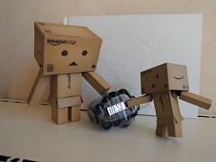 Only The Brave! By Diesel ^^' (Damien Saint-) Tags: toy amazon vinyl pepsi yotsuba danbo calbee amazoncojp revoltech danboard