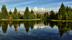 Low Clouds at Scwabacher (Jeff Clow) Tags: bravo grandtetonnationalpark schwabacherlanding jacksonholewyoming tpslandscape