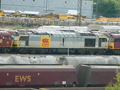 60068 at Toton TMD / Yard 08/06/2013 (37686) Tags: brush class tug 60 toton