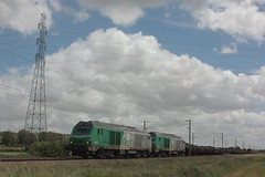 BB 75441 + BB 75448 / Bierne (jObiwannn) Tags: train locomotive prima fret ferroviaire