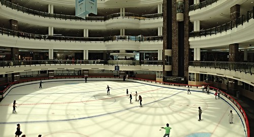Ice rink at City Center Mall, Doha