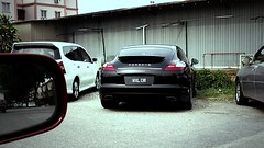Porsche Panamera 4 (Jason Wilton) Tags: family black sports car sedan automobile 4 fast porsche malaysia gloss saloon supercar 4door panamera