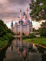 Castle (stevetesta) Tags: orlando florida disney disneyworld waltdisneyworld magickingdom 14mm gx1