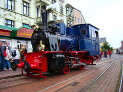 DSC07475 (Johnny_Hibma) Tags: waddenzee waddeneiland zee trein spoor nostalgie borkum kleinbahn