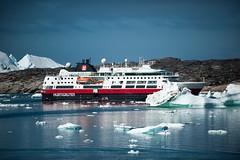 Hurtigruten Fram (swissgoldeneagle) Tags: ship greenland iceberg schiff icebergs hurtigruten eisberg fram grnland groenland eisberge d700