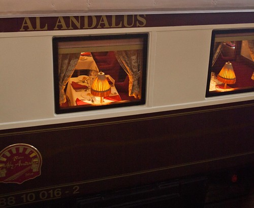 Al Andalus luxury train, Spain