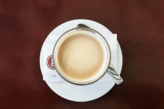 Day 65 - A good coffee (Alexandru Georgescu) Tags: coffee table cafe spoon late tabletop