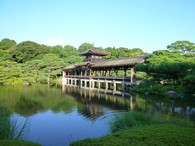 神苑をとっても満喫しました。|平安神宮