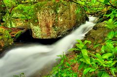 Azalea Cascade (the waterfallhunter) Tags: laurelcreek dekalbcounty fortpaynealabama azaleacascade desotostateparklookoutmountain