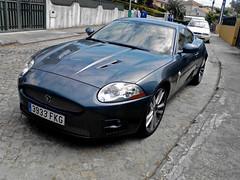 Jaguar Xk-R 2006 (VtorFaria) Tags: blue black grey martin interior s m turbo porsche bmw jaguar z4 m3 expensive rims luxury rare supercar maserati aston carrera roadster 991 xkr panamera whells e92 v8v