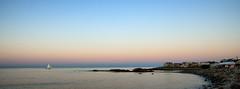 Perkins Cove, Ogunquit, Maine (SpokenShutter.com) Tags: sunset sailboat cove maine perkins ogunquit