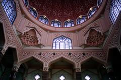 Putra Mosque (sleepyhead's) Tags: islam malaysia kualalumpur putrajaya sunni putramosque pinkmosque masjidputra