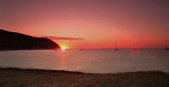 NE6P4572 (COROM@NT) Tags: sunset water canon eos boat long exposure barca riviera tramonto mare 1d tuscany toscana vela acqua markii sigma1224 cokin baratti etrusca