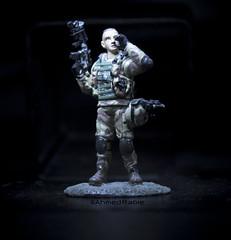 Ranger usa (© Ahmed rabie) Tags: black night military single bg soldat aluminium objec