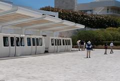 GETTY MUSEUM (skech82) Tags: california building architecture america train losangeles museo gettymuseum costruzione treno architettura statiuniti mezzoditrasporto d3000 skec82