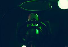 m i c (B R A N D) Tags: music chicago black green canon studio illinois sound record microphone hip hop mic brand audio recording misfits mrbluesky outcasts 2013 markis krisbrand ©2013 misfitsoutcasts