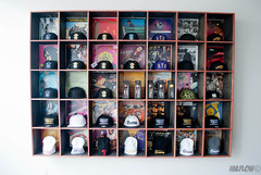 Variety of their in store snapbacks, as well as their kendamas. (quiochospecial) Tags: hawaii hats hiphop honolulu atg beanies backround kendama mccully snapbacks cubbiehole aboutthegoods