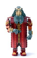 Younger Balin (Pate-keetongu) Tags: lego dwarf lotr hobbit dwarves moc balin kenstott erebor