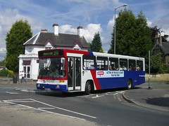 Strider in Wall Heath (MCW1987) Tags: travel west volvo national express alexander midlands strider twm 1324 bodied b10b b10b58 m324ljw