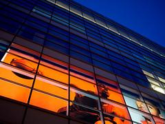 NoHo Adidas / Dusk (Wes Bender) Tags: street nyc urban streetart basketball architecture reflections advertising lumix noho dusk manhattan g adidas streetscape streetshooting em5 20f17 olympusomd