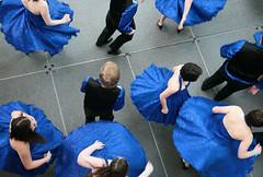 Twirlers (peterkelly) Tags: blue girls ohio usa boys digital us downtown dancers unitedstates stage cleveland unitedstatesofamerica northamerica skirts twirling rockrollhalloffameandmuseum